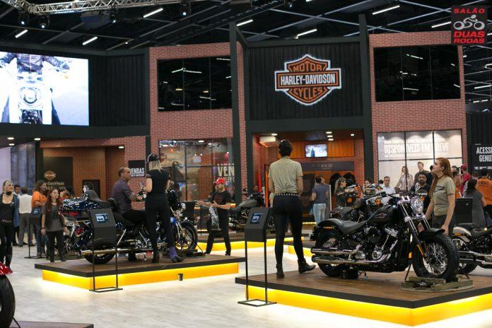 Harley Davidson no Salão Duas Rodas 2021