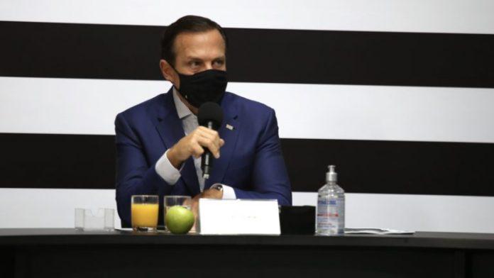 Doria diz que todo o Estado de SP será vacinado em 2021